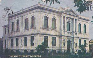 Carnegie Library, Winnipeg, Manitoba, Canada, PU