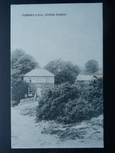 Epping Forest LOUGHTON High Beech TURPIN'S CAVE Pub c1905 Postcard by C. Martin