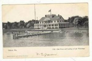Club House And Landing,Lake Winnebago,Oshkosh,WI,pre- 07
