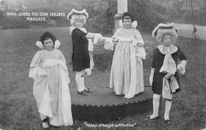Margate Royal school for Deaf Children, Theatre Play Happy though afflicted