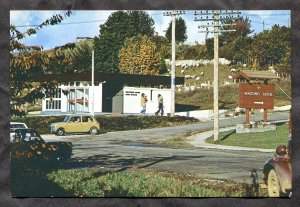 dc165 - WAITOMO CAVES New Zealand 1960s Post Office. Antique Postcard