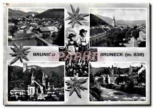 Postcard Modern Brunico Bruneck