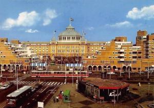 Netherlands Scheveningen Casino Kurhaus Tram Cars Voitures