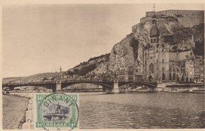 DINANT , Namur , Belgium 1936 ; Le Pont et la Collegiale