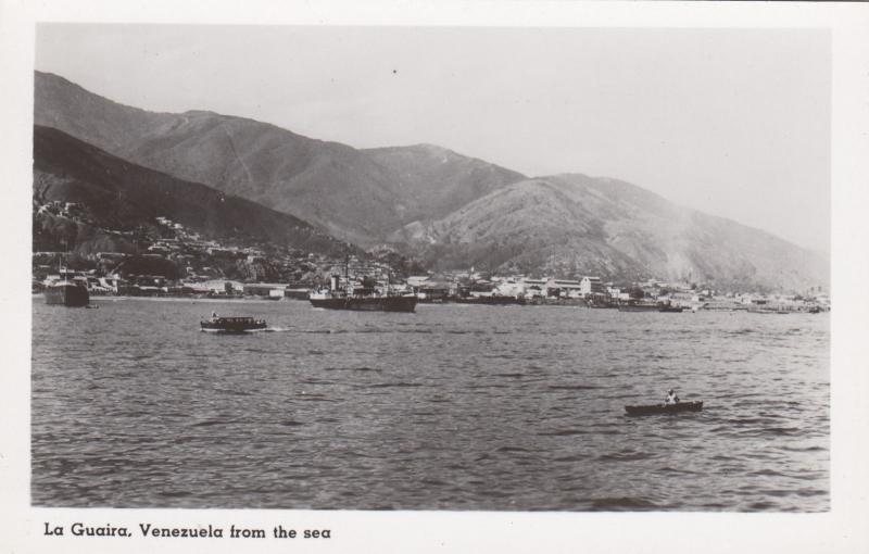 RP: LA GUAIRA , Venezuela , 1940-50s; View from the Sea