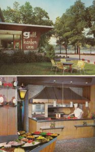 RICHLAND, Michigan, 1950-60s; Gull Harbor Inn, Outside View and Restaurant View