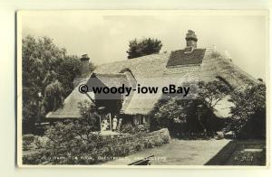 tp8649 - Kent - The Old Barn Tea Rooms and Garden, at Chesterfield -  postcard