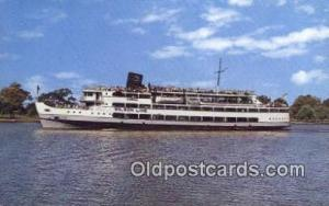 SS Mount Vernon, Washington, DC USA Steam Ship Postcard Post Cards  SS Mount ...