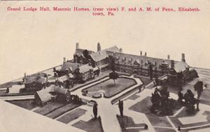 Grand Lodge Hall, Masonic Homes, F. & A. M. Of Penn., Elizabeth Town, PA,PU-1914