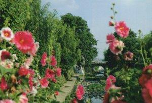 April Bridge Horigawa Bridge View Japan Vintage Postcard Kim Beiner Post Office
