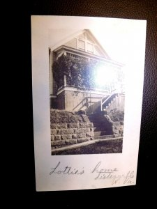 C. 1910 RPPC Lottie's Home in Sisterville, West Virginia AZO Real Photograph