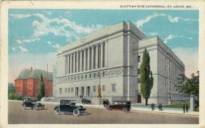 Scottish Rite Cathedral, St. Louis, Missouri,  PU-1923