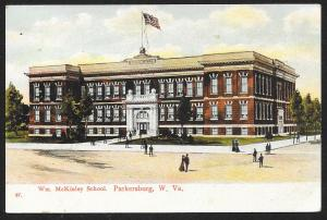 Wm McKinley School Parkersburg West Virginia Used c1907