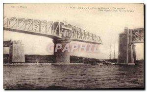 Postcard Old Port de Bouc Bridge Caronte central battery
