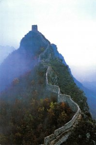 China Postcard, The Great Wall at Wangjinglou, Watching the Capital Tower EE1