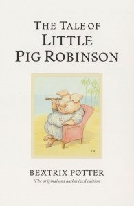 The Tale Of Little Pig Robinson Beatrix Potter Book Postcard