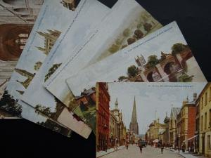 HEREFORD Collection of 6 Old Postcard by Photochrom Co. Ltd