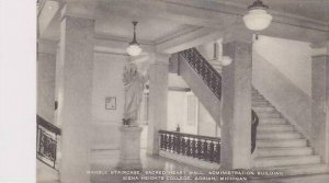 Michigan Adrian Marble Staircase Sacred Heart Hall Administration Building Si...