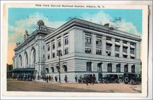 NY - Albany. New York Central Railroad Station