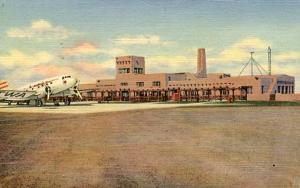 NM - Albuquerque. Administration Building, Municipal Airport
