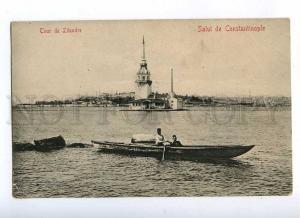 191796 TURKEY CONSTANTINOPLE Leandre Tour Vintage postcard