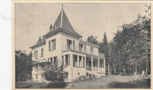 GENEVE , Switzerland, 1911 ; Villa Les Laurelles