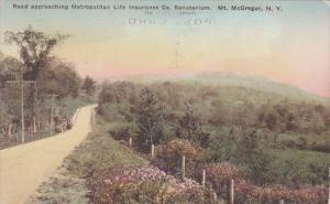 Road Approaching Metropolitan Litan Life Insurance Company Sanatorium Mount M...