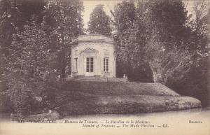 France Versailles Hameau de Trianon Le Pavillon de la Musique