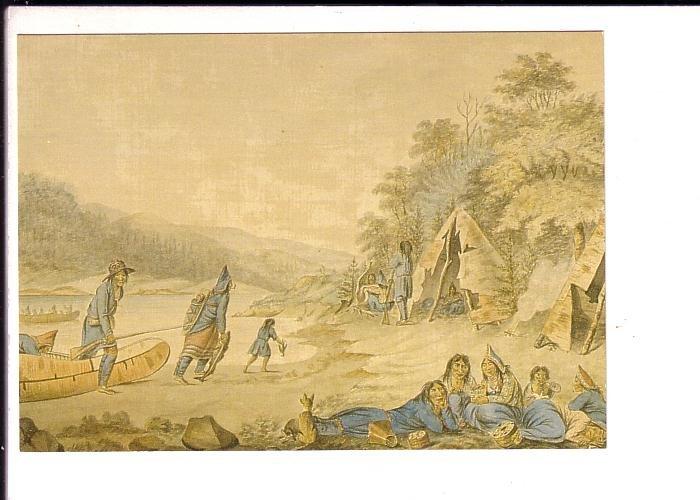 Micmac Encampment, Nova Scotia Museum, Halifax, Birchbark Canoe, Tipi