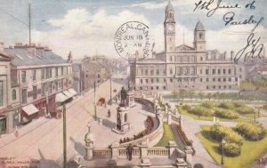 Paisley, Scotland, UK, 191906 ; Clark Halls & Dunn Square