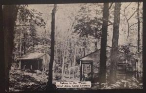 Cabin in the Woods West Area Camp Swatara PA 1958 Nyce Manufacturing Co