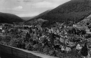 Wildbad im Schwarzwald General view Panorama Postcard