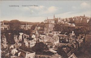 Luxembourg Grund et Ville Haute