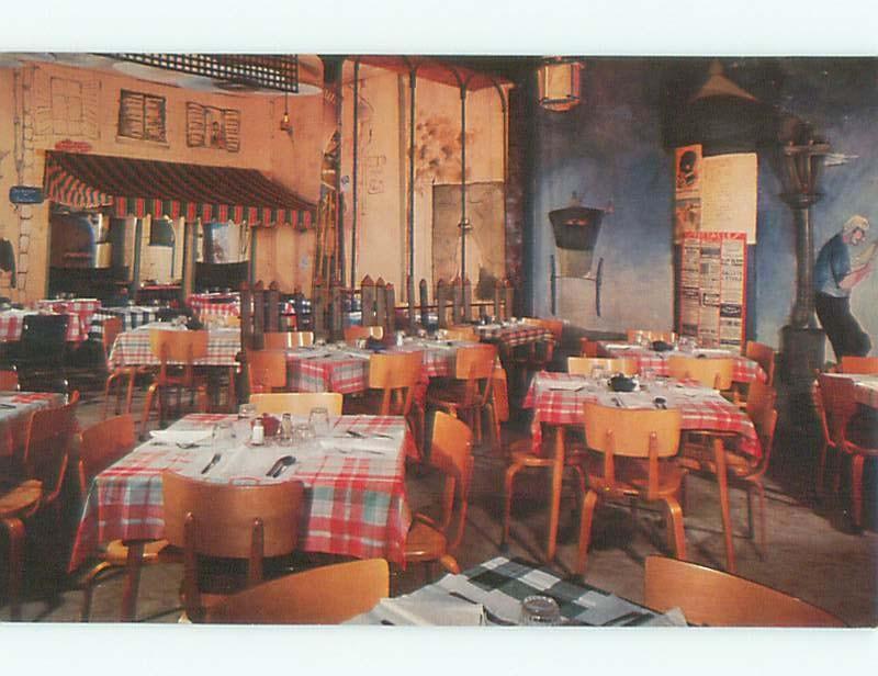 Pre-1980 VENDOME RESTAURANT Quebec City QUEBEC W6640