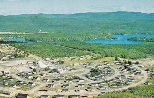 ST. DAVID DE FALARDEAU, Quebec, Canada, 1950-1960s; Aerial View