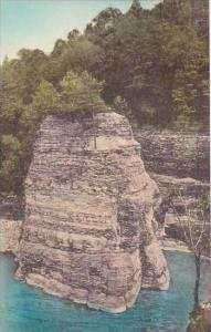 New York P O Castle Cathedral Rock Near Lower Falls Letchworth State Park  Al...