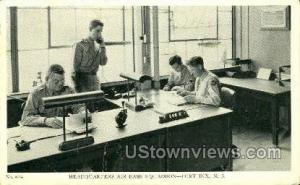 Headquarters Air Base  Fort Dix NJ 1942 missing stamp