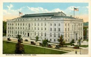 CT - Hartford. Municipal Building