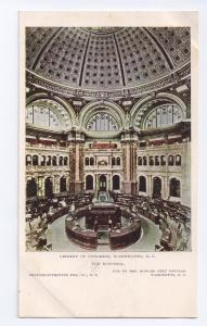 Library of Congress Rotunda Washington D.C. UDB c1904