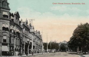 BROCKVILLE , Ontario , Canada , 1913 ; Court House avenue
