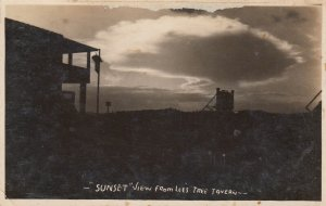 RP: SUNSET view from Lees Tree Tavern, Rainelle , West Virginia , 10-20s