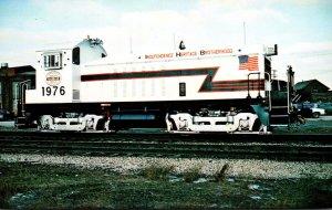 Trains Indiana Harbor Belt Locomotive Number 1776