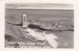 RP, GLASGOW, Montana, 1930-1940s; Fort Peck Power Plant
