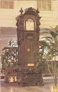 Louisiana New Orleans Hotel Monteleone Lobby Antique Grandfather Clock