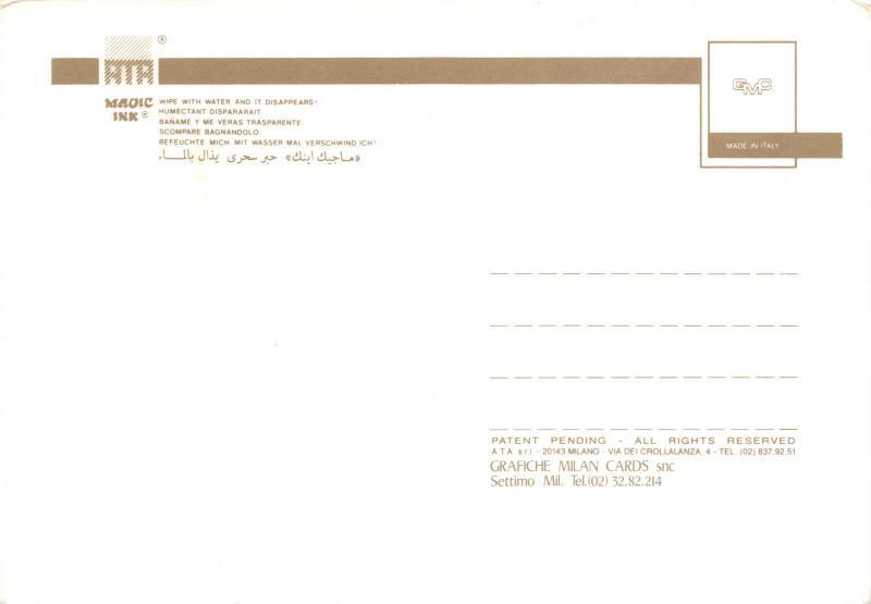 Rare Postcard Magic Strip Card Rude Saucy Risque by Grafiche Milan Cards snc O90