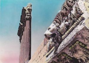 RP, Les Six Colonnes Du Temple De Jupiter, Baalbek, Lebanon, Asia, 1920-1940s