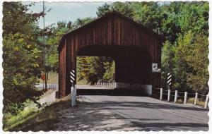 Covered Bridge over Contoocook River - Greenfield NH, New Hampshire