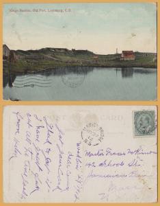 Kings Bastion, Old Fort, Louisburg, Cape Breton - 1912