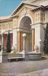 Entrance Palace Of Liberal Arts Pan Pacific-International Expo San Francisco ...