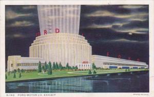 Chicago World's Fair 1933 Ford Motor Company Exhibit 1934